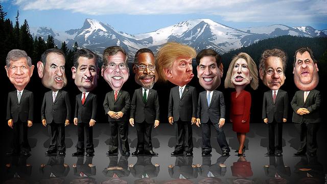 CNBC Republican Debate Lineup