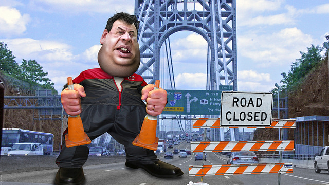 Chris Christie - Cone Warrior