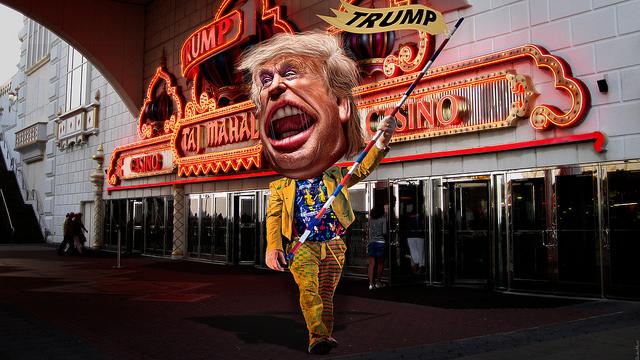 Donald Trump - Drum Major Clown