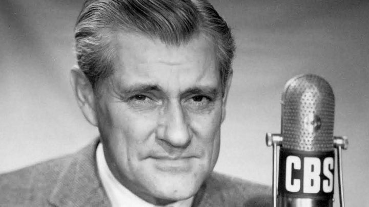 "Legendary CBS News Radio Correspondent and Television Commentator Eric Sevareid, ""The Voice of Reason."""