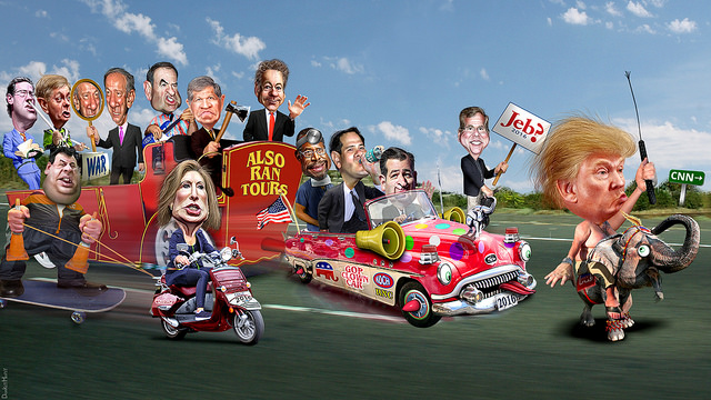 The Republican Clown Car Parade returns to CNN!