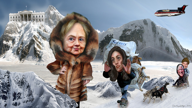 Hillary Clinton's Team Approaches The Summit