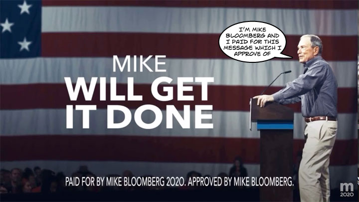 Mike Bloomberg 2020 TV Commercial