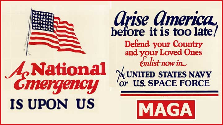 A National Emergency is Upon Us (Navy Recruiting Poster)