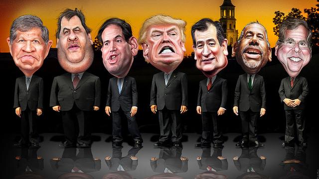 Republican Fox Business Primary Debate Lineup