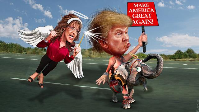 Sarah Palin Anoints Donald Trump