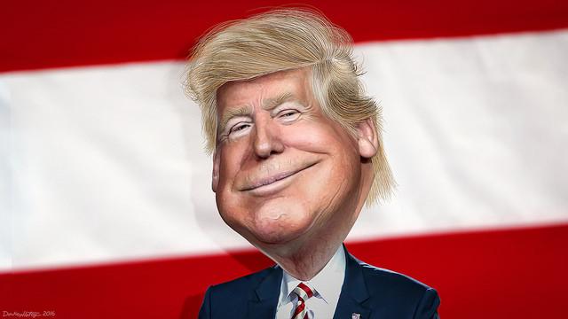 President-elect Donald Trump - Caricature