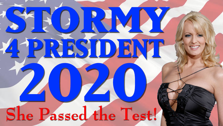 THIS UNPAID COMMERCIAL IS NOT AUTHORIZED OR ENDORSED BY ANY CANDIDATE NAMED STORMY DANIELS