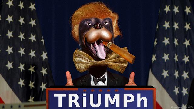 TRiUMPh The Insult Comic Candidate - Make America Poop Again!