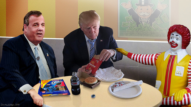 John Miller Meets with Top Advisors at Local McDonald's