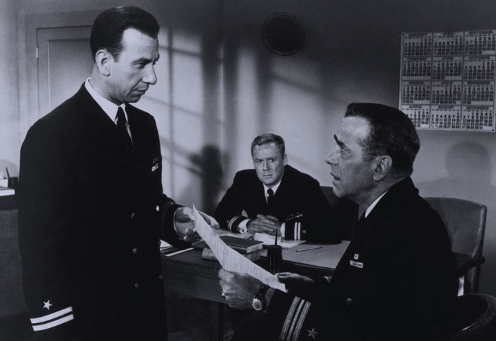 "Still from ""The Caine Mutiny"""